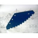 Нож вертикального кормосмесителя DeLaval (Делаваль)