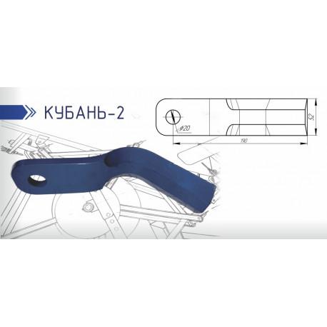 Нож ротора ККП 2.02.00.401