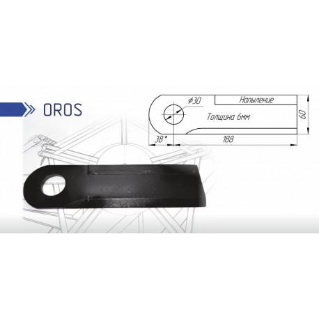 Нож кукурузной жатки ОРОШ (OROS)
